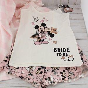 Disney Bride to Be PJ Set